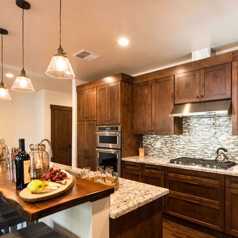 Fairway townhomes kitchen